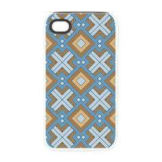 #60s #pattern #MARLENE, #aqua #iPhone 4/4S Tough #Case> 60s pattern MARLENE> MehrFarbeimLeben