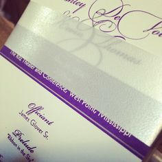 Programs are in.... #LoveMSW #Excited #may24 {Vision of Love Tea-Length Wedding Program}