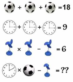This is an easy maths equation picture puzzle to test your mathematical skills. Solving this math picture puzzle will help you to improve your maths skills. Study the given algebraic equations carefully and find the value of the Triangle and Star. Math Puzzles Brain Teasers, Brain Teasers For Kids, Math For Kids, Fun Math, Puzzle Photo, Math Logic Puzzles, Math Quizzes, Iq Puzzle, Math Talk
