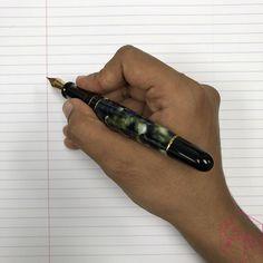 Modern Flex Fountain Pen Comparison - Montblanc 149 Calligraphy Flex vs. Aurora 88 Mottishaw Spencerian 13 - Azizah Asgarali Montblanc 149, Fountain Pen Reviews, Aurora, Calligraphy, Modern, Penmanship, Trendy Tree, Northern Lights, Calligraphy Art