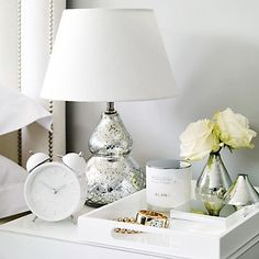 Buy Home Accessories > Lighting > Antique Cut Glass Table Lamp from The White Company