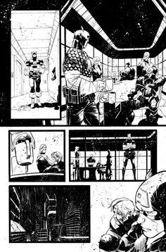 Secret Avengers 37 - page 1 by MatteoScalera on DeviantArt
