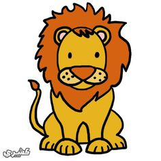 16 Best تعليم الرسم للأطفال Images Cute Animal Clipart Baby