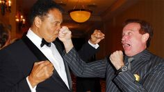 50-photos-rares-de-Mohammed-Ali-cassius-clay-75-ans-14-robin-williams 50 photos rares de Mohamed Ali pour célébrer son 75eme anniversaire