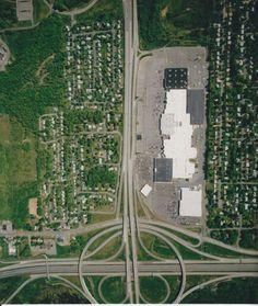 Aerial shot New Hartford, Strip Mall, Historical Society, City Photo, Memories, Board, Memoirs, Souvenirs, Remember This