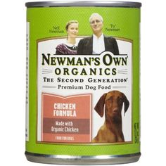 Newman's Own Organic Dog Food, Canned Chicken Formula, oz @ You can find out more about the great product at the image link. (This is an affiliate link and I receive a commission for the sales) Organic Dog Food, Organic Chicken, Canned Dog Food, Canned Chicken, Dog Food Recipes, Chicken Recipes, Premium Dog Food, Wet Dog Food, Dog Snacks