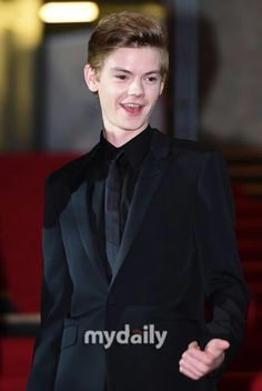 Thomas sangster came to Korea♥♥♥♥♥ I wanna go... OTL