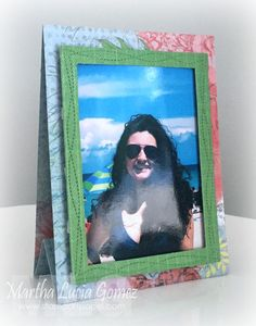 Easel Frame and Card – Joy Clair and Quick Quotes Day 2