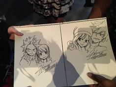 Natsu Dragneel, Lucy Heartfilia, Gray Fullbuster and Juvia Lockser - by Hiro Mashima - Fairy Tail Tumblr, Fairy Tail Funny, Fairy Tail Love, Fairy Tail Ships, Fairy Tail Gruvia, Fairy Tail Anime, Fairy Tail Genderbend, Fairy Tail Family, Fairy Tail Couples