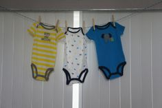 Clothes Line #BabyShower baby shower