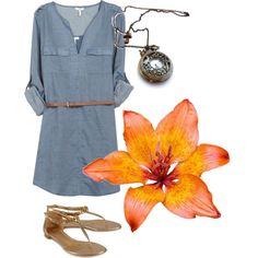 spring fashion casual dress