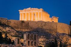 #Athens brought the world drama, history, poetry, and philosophy. The towering columns of the #Parthenon still stand in homage to the virgin goddess Athena. #Greece #Europe #CelebrityCruises