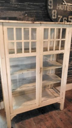Antique Primitive Pie Safe Southern Style Screen Panels Early ...