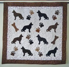 German Shepherd Quilt Pattern 6 00 Quilting Dog