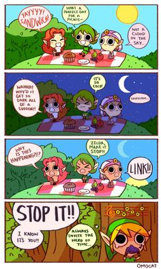 Link, eres un cabrón.