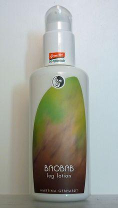 martina-gebhardt-baobab-leglotion und Baobab Fußspray | bei Sonnenbrand: Extra Hydrating Toning Gel von LIving Nature