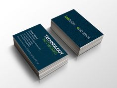 Technology Networks trade business cards