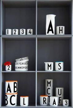 Porcelánová miska Letters   Nordic Day