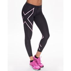 2xu Compression Tights (1 450 SEK) via Polyvore featuring sports fashion, tights, womens-fashion and 2xu