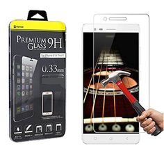 Hamee Premium Tempered Glass For Lenovo Vibe K5 Note - 9H Hardness Toughened Tempered Glass Screen Protector for Lenovo K5 Note -- Awesome products selected by Anna Churchill