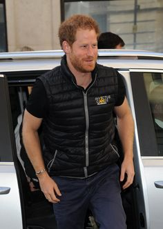 Pin for Later: Prince Harry Shows Off His Biceps in a Tight Shirt, Makes Us Thank the Heavens Above