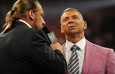 WWE Triple H & Vince McMann