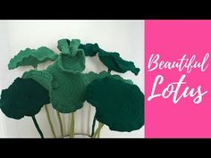 Welcome to my crochet channel. Here you will find videos about to make all types of crochet flowers. Crochet Puff Flower, Crochet Flower Tutorial, Crochet Leaves, Crochet Flower Patterns, Flower Applique, Crochet Designs, Crochet Flowers, Crochet Tutorials, Purple Flower Bouquet