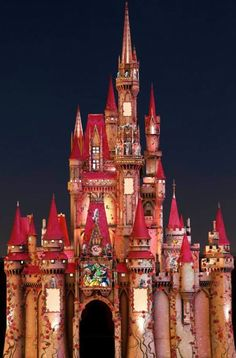 disney castle for valentines day
