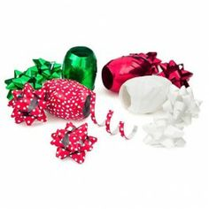 Assorted Christmas Gift Bows 16 Pack great for my presents Christmas Gift Bow, Christmas Goodies, Christmas Wrapping, Christmas Presents, Gift Bows, Wraps, Ribbon, Traditional, Red