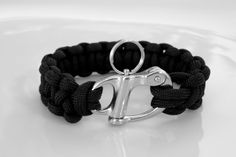 Black paracord