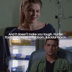 "#RedBandSociety 1x08 ""Get Outta My Dreams, Get Into My Car"" - Hunter and Kara"