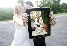 New #Wedding Technology 5 Must-Haves! iPad app, online wedding invitations, wedding websites, virtual pinterest pin boards
