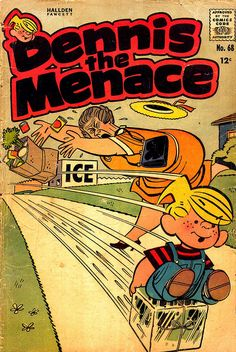 Dennis the Menace Comic Book (1950)...and in the funny papers...
