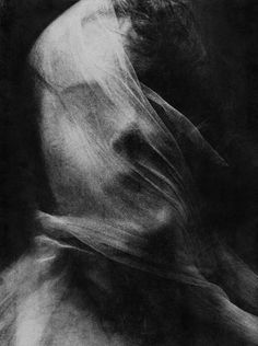 veiled portrait by Christopher Lee Donovan Dark Photography, Black And White Photography, Portrait Photography, A Level Photography, Contemporary Photography, Art Zombie, Macabre, Art Inspo, Surrealism