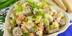 Вкуснейший салат из куриных сердечек: пошаговый рецепт http://optim1stka.ru/2017/11/10/vkusnejshij-salat-iz-kurinyh-serdechek-poshagovyj-retsept/
