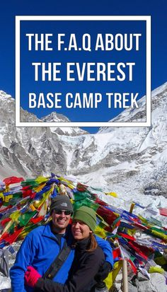 All of the questions we never had answers to before trekking to Everest.