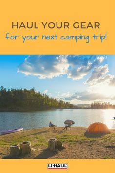 Don't cram all your camping equipment in your car! Instead, rent a trailer to travel comfortably and save some leg space! Click through to get started! Camping In The Rain, Camping Near Me, Van Camping, Camping Gear, Camping Hacks, Camping Trailers, Moving Supplies, Camping Supplies, Southern California Camping