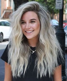 Spectacular Long Shaggy Hairstyles for Women to Look Unique and Distinguishable This Year Easy Hairstyles For Long Hair, Latest Hairstyles, Shaggy Hairstyles, Gorgeous Hairstyles, Hairstyle Ideas, Shaggy Long Hair, Goddess Hairstyles, White Hair, Hair Trends