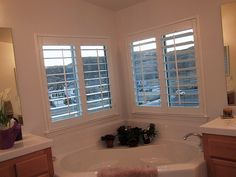Danmer Custom Window Coverings of San Diego. Quite Possibly, The Finest Window Coverings In The Country. Rancho Cordova, Custom Shutters, Interior Window Shutters, Interior, Granite Bay, House, Wood Windows, Custom Window Coverings, Solana Beach