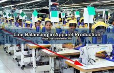 Line Balancing in Apparel Production Fixed Cost, Industrial Engineering, University Of Sciences, International Companies, Increase Productivity, Science And Technology, Line, Fishing Line