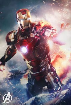 The Avengers-Iron Man mark 7 Iron Man Avengers, The Avengers, Female Avengers, Iron Man Spiderman, Iron Man Wallpaper, Marvel Wallpaper, Posters Batman, Avengers Poster