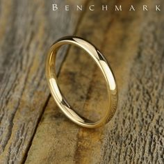 Shop for wedding rings and wedding bands manufactured in gold, silver, titanium platinum, tungsten, and cobalt by Benchmark Rings. Gold Ring Designs, Gold Earrings Designs, Gold Jewellery Design, Diy Jewelry Rings, Gold Jewelry, Jewelry Bracelets, Wedding Ring Bands, Wedding Jewelry, Bling Wedding