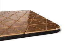 Flexible Wood Floor Mats from Sitskie Design Studio - Design Milk Flexible Wood, Furniture Companies, Made Of Wood, Rug Making, Floor Mats, Wood Furniture, Flexibility, Flooring, House Styles