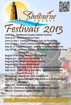Shelburne County Festivals 2013