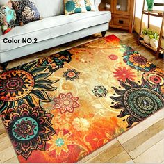 Find More Rug Information about 133cm*190cm Large size Nylon Oil Painting Carpet Environmental Protection Non slip Living Room Rug, European Carpet TMJC002,High Quality carpet rug,China carpet brush Suppliers, Cheap carpet belgium from Household Products wholsale and Retail on Aliexpress.com