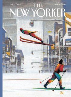 IlPost -  Lorenzo Mattotti per il New Yorker