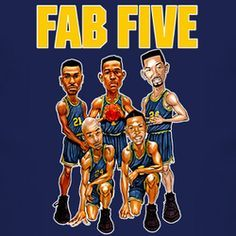 Image result for michigan wolverines fab-5