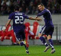 Cristiano Ronaldo, Angel Di Maria