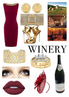 """Best dressed guest: winery"" by sophisticatedfashion ❤ liked on Polyvore featuring Carolina Bucci, Perrin, Giuseppe Zanotti, Buccellati, Modern Bride, Lime Crime, Phase Eight, napa, winerywedding and bestdressedguest"
