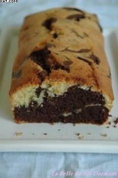 cuisiner la recette Cake marbré chocolat-citron rapide à cuisiner